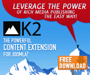 K2 - The powerful content extension for Joomla! - Free download!