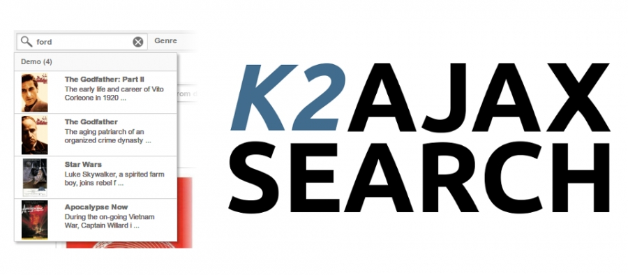 AJAX Search for K2
