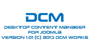DCM Desktop Content Manager for Joomla & K2