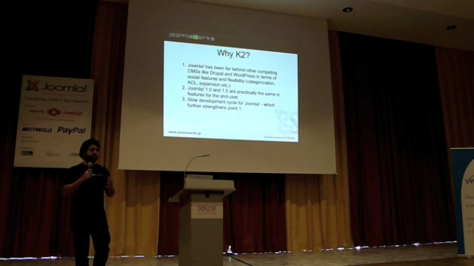 K2 Presentation at JoomlaDay Germany (Sept 2009)