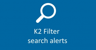 K2 Filter Search Alerts