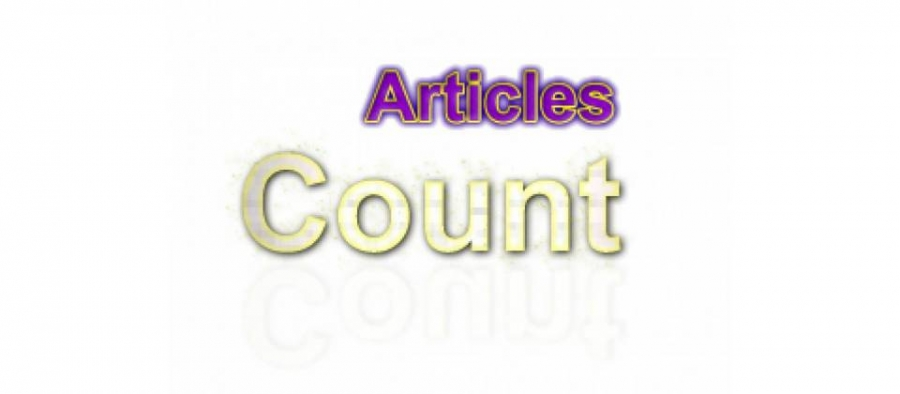 Articles Count for K2