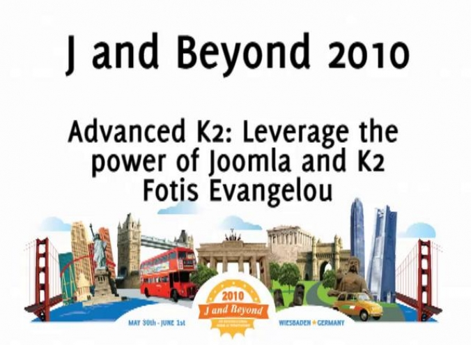 Advanced K2: Leverage the power of Joomla and K2